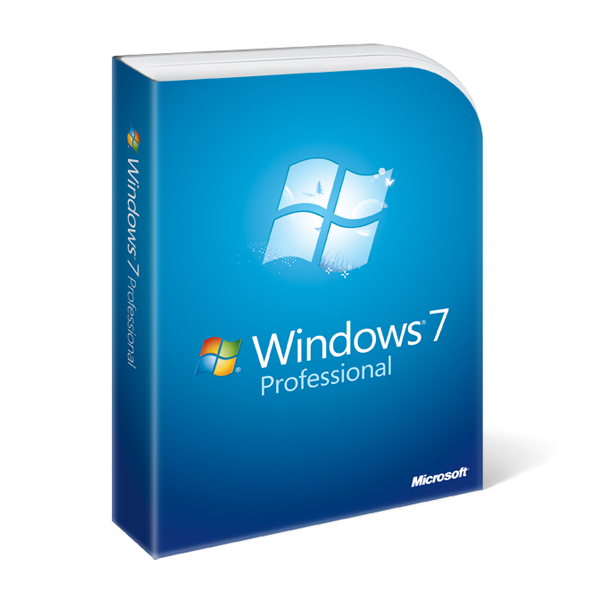 Windows 7 Professional SP 1 inkl. DVD - 64-bit - Systembuilder, - NEU -