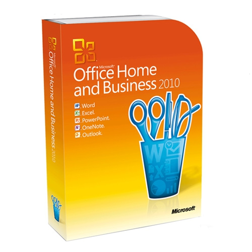 Microsoft Office 2010 Home and Business, OEM inkl. DVD - NEU