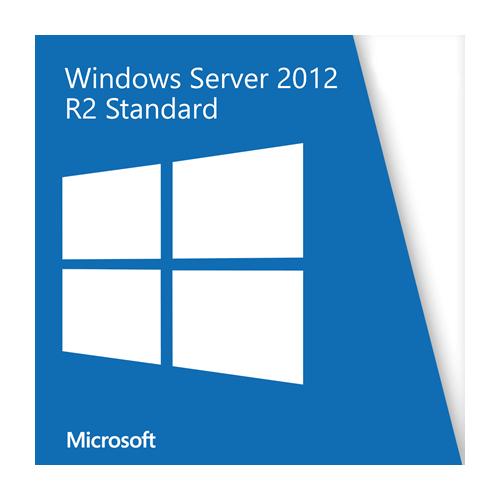 Microsoft Windows Server 2012 Standard R2, 2 CPU / 2 VM, OEM/SB