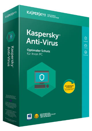 Kaspersky Anti-Virus 2018 Upgrade, 5 PC - 1 Jahr, Download
