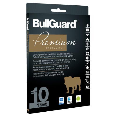 BullGuard Premium Protection 2017 Multi-Device, 10 Geräte - 1 Jahr, Download