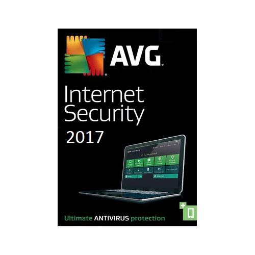 AVG Internet Security 2017, 3 Geräte - 1 Jahr, Download