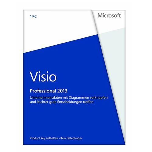 Microsoft Visio 2013 Professional, PKC