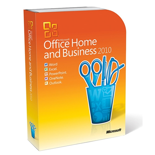 Microsoft Office 2010 Home and Business, Retail-Box inkl. Zweitnutzungsrecht