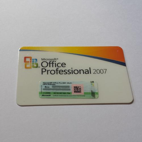 Microsoft Office 2007 Professional, MLK