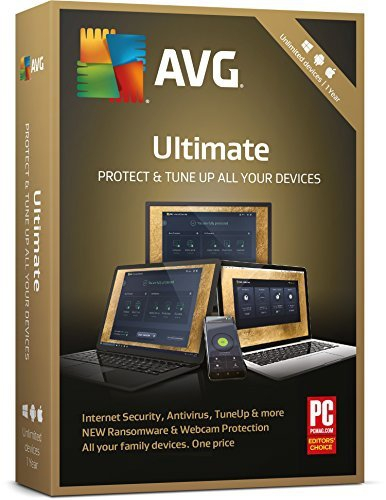 AVG Ultimate 2018, 1 User - 2 Jahre - beliebig viele Geräte, Download
