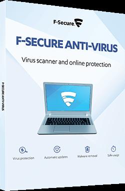 F-Secure Anti-Virus 2017 Upgrade, 1 PC - 1 Jahr, Download