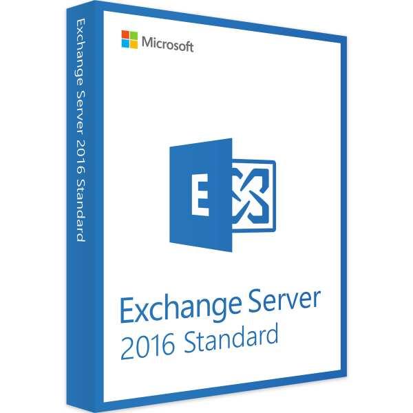 Microsoft Exchange Server 2016 Standard - www.software-shop.com.de
