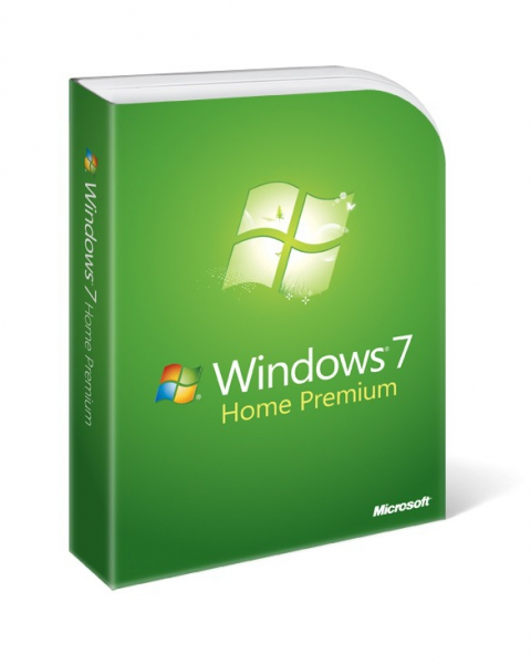 Windows 7 Home Premium inkl. DVD - 64-bit