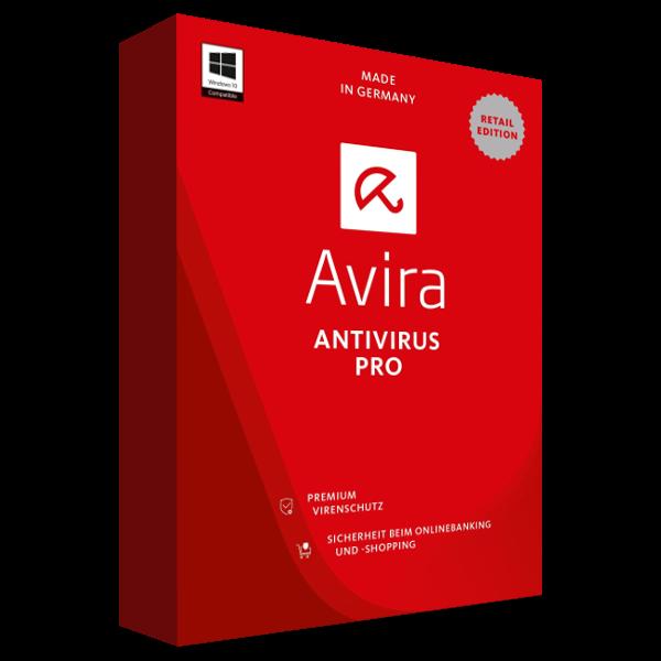 Avira Antivirus Pro 2017, 3 Geräte - 1 Jahr, Download