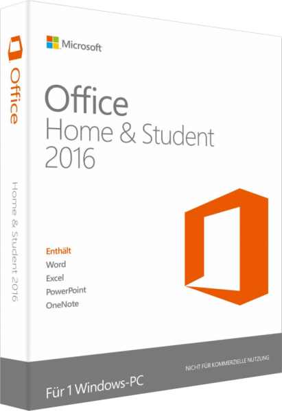 Microsoft Office 2016 Home and Student, PKC -NEU-