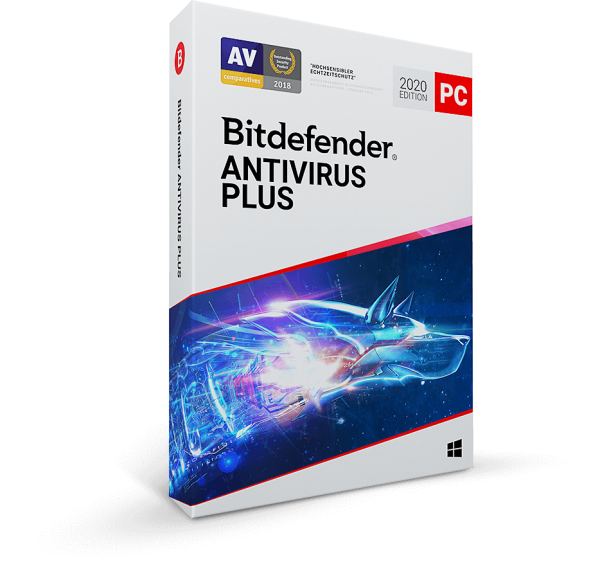 Bitdefender Antivirus Plus 2020 - www.software-shop.com.de