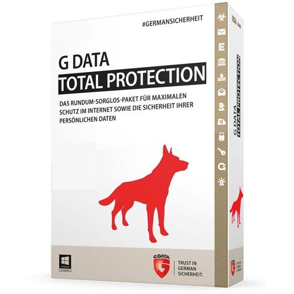 G DATA Total Security 2017, 1PC - 1 Jahr, Download