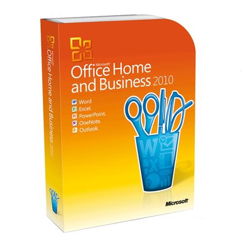 Microsoft Office 2010 Home and Business, inkl. DVD mit Zweitnutzungsrecht