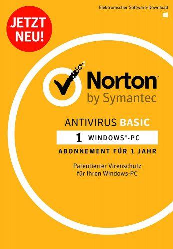 Symantec Norton Antivirus Basic, 1 Gerät - 1 Jahr, Download