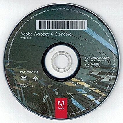 Adobe Acrobat XI Standard, OEM, DVD, Win