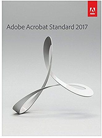 Adobe Acrobat Standard 2017 Vollversion OEM, PKC, Win