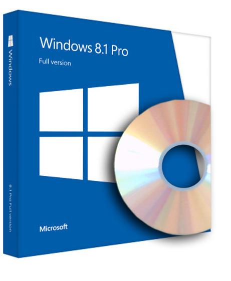 Windows 8.1 Pro OEM inkl. DVD - 64-bit