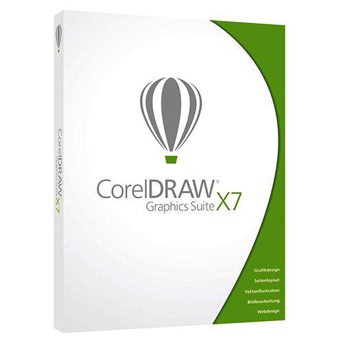 CorelDRAW Graphics Suite X7, inkl. DVD und Zweitnutzungsrecht. Vollversionsbundle*