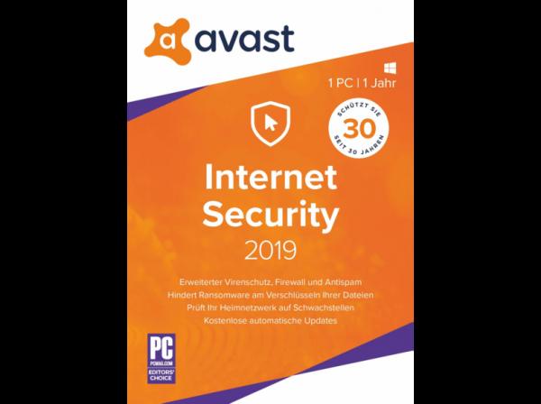 Avast Internet Security 2019 - www.software-shop.com.de