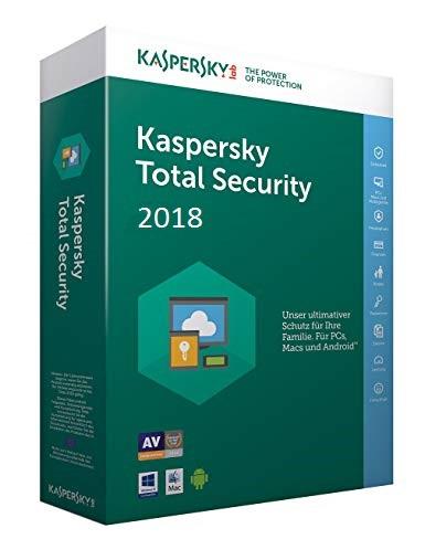 Kaspersky Total Security 2018 Upgrade Multi-Device, 3 Geräte - 2 Jahre, Download
