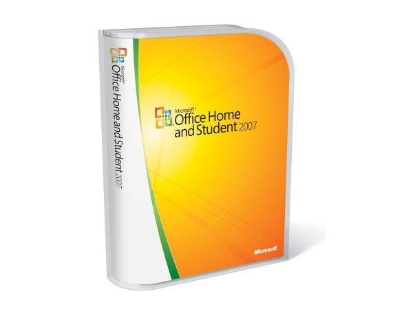 Microsoft Office Home and Student 2007, 3 PC, Retail-Box inkl. DVD