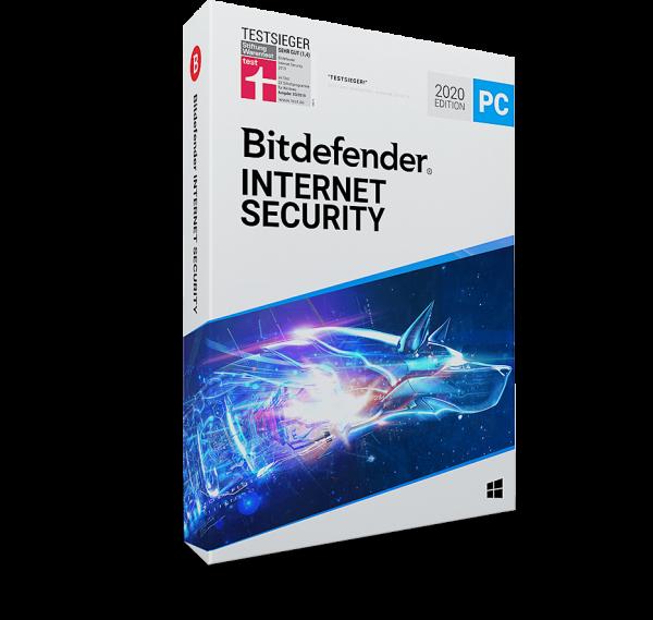 Bitdefender Internet Security 2020 - www.software-shop.com.de