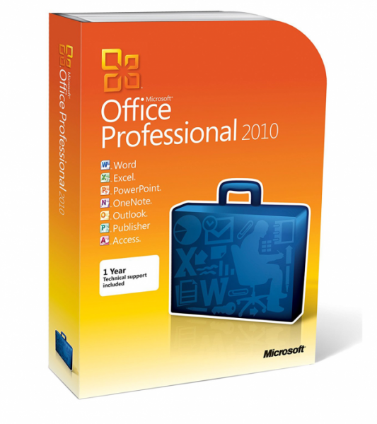 Microsoft Office 2010 Professional Box - www.software-shop.com.de
