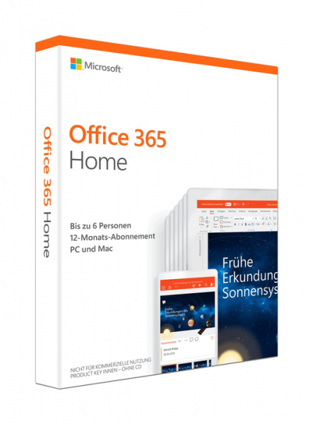 Microsoft Office 365 Home - www.software-shop.com.de