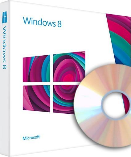 Windows 8 OEM inkl. DVD - 64-bit