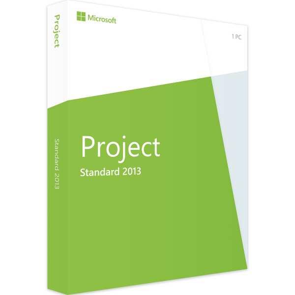 Microsoft Project 2013 Standard, PKC