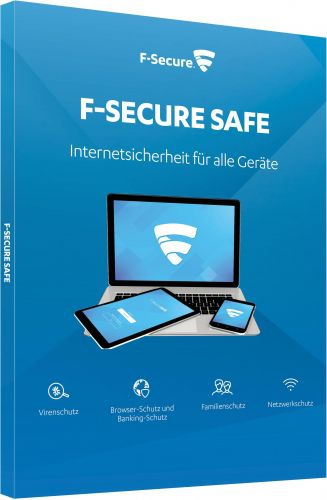 F-Secure Safe Internet Security 2017, 3 Geräte - 1 Jahr, Download Win/Mac/Android