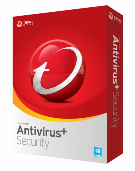 Trend Micro Antivirus+ Security 2019, 1 Gerät - 2 Jahr, ESD, Download