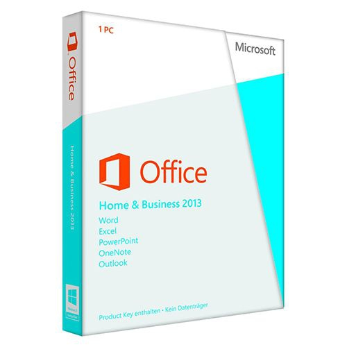 Microsoft Office 2013 Home and Business, inkl. OEM-DVD -NEU-